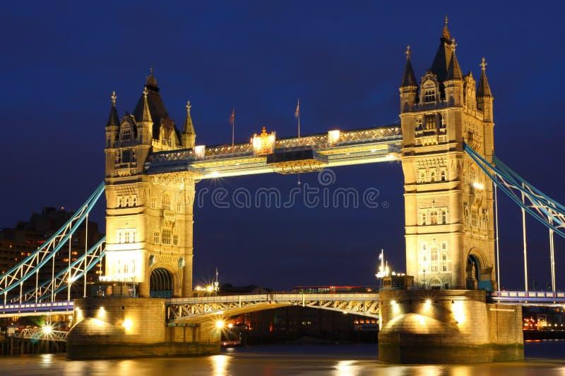 Passerelle de tour, Royaume-Uni photographie stock libre de droits
