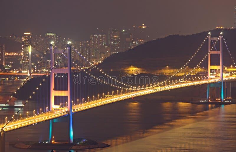 Passerelle de Tsing mA à Hong Kong photos stock