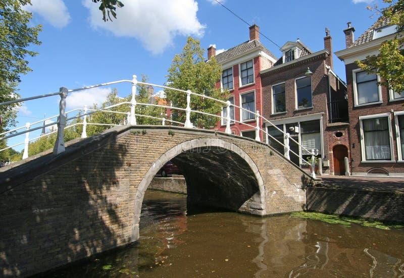 passerelle Delft photos stock