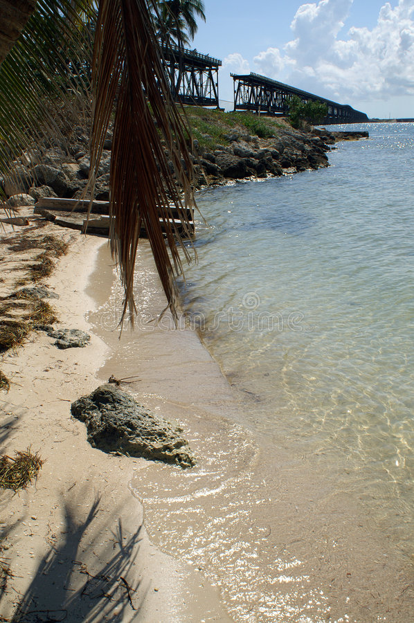 Passerelle du Bahia Honda photo stock