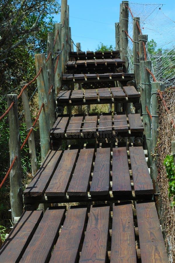 Download Passerelle en bois image stock. Image du construction - 2135133