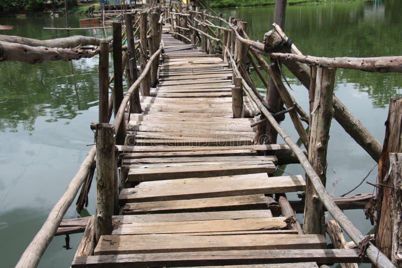 Passerelle en Thaïlande photographie stock