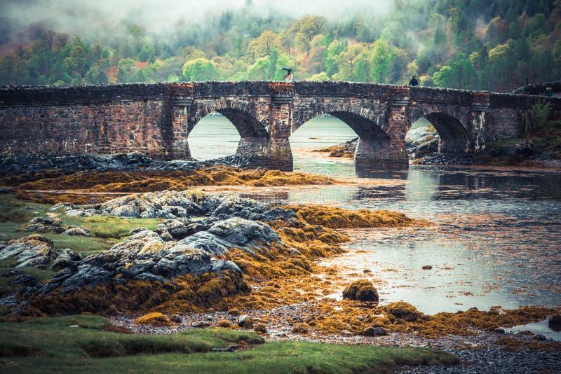 Passerelle médiévale photo libre de droits