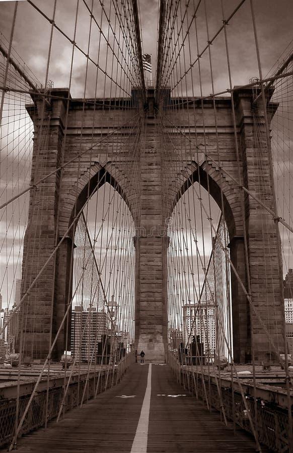 passerelle Manhattan images libres de droits