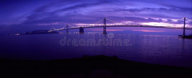 Passerelle Oakland de compartiment photographie stock libre de droits