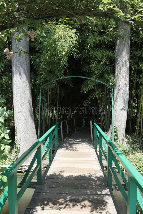 Passerelle, perspective images stock