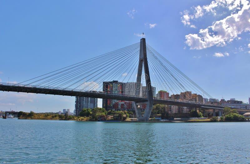 passerelle Sydney d'anzac photos stock
