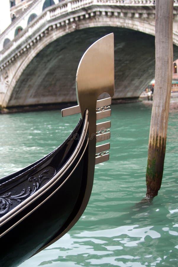 Passerelle Venise de Rialto image stock
