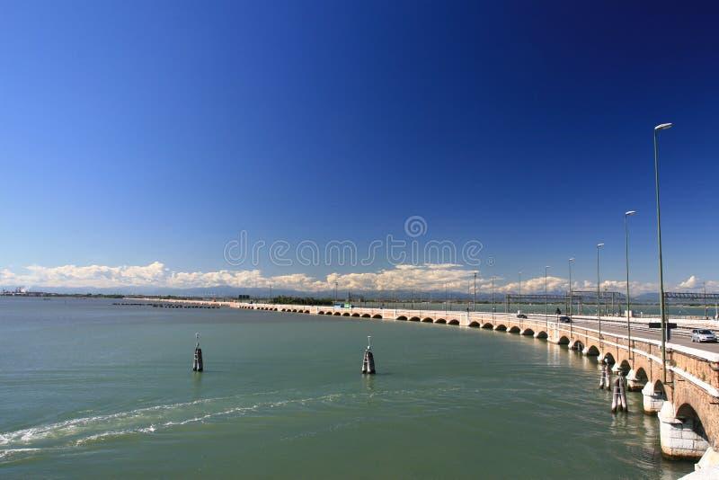 passerelle vers Venise photographie stock libre de droits