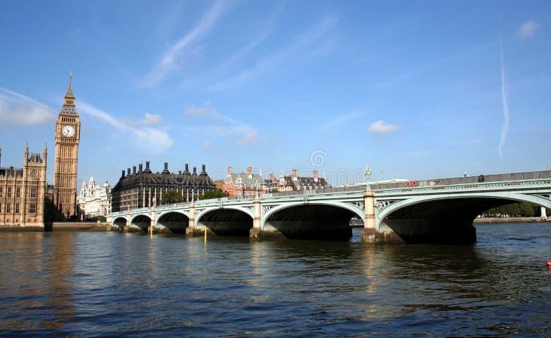 passerelle Westminster photo stock