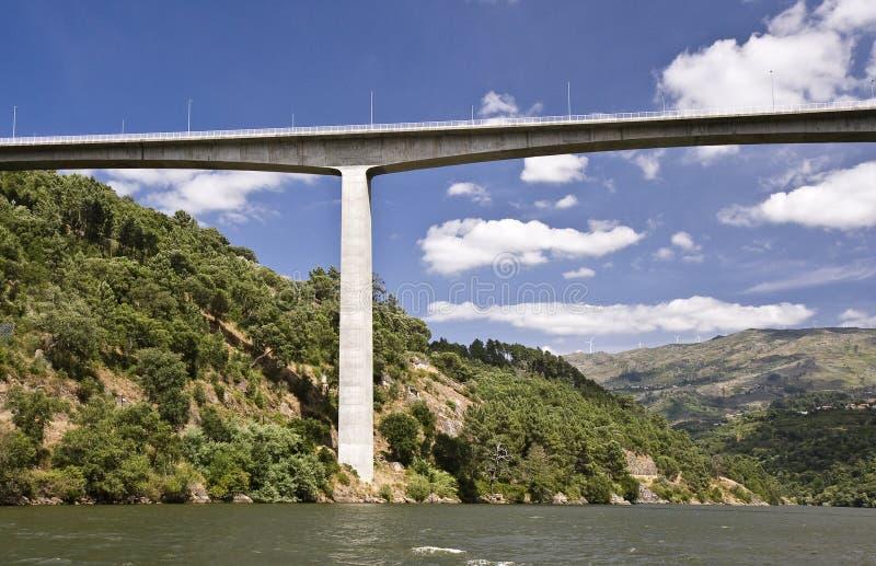Passerelles du fleuve de Douro images libres de droits