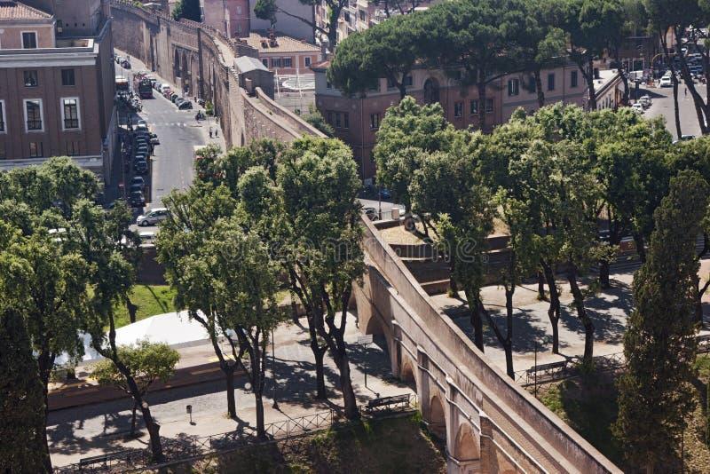 Passetto di Borgo arkivbild