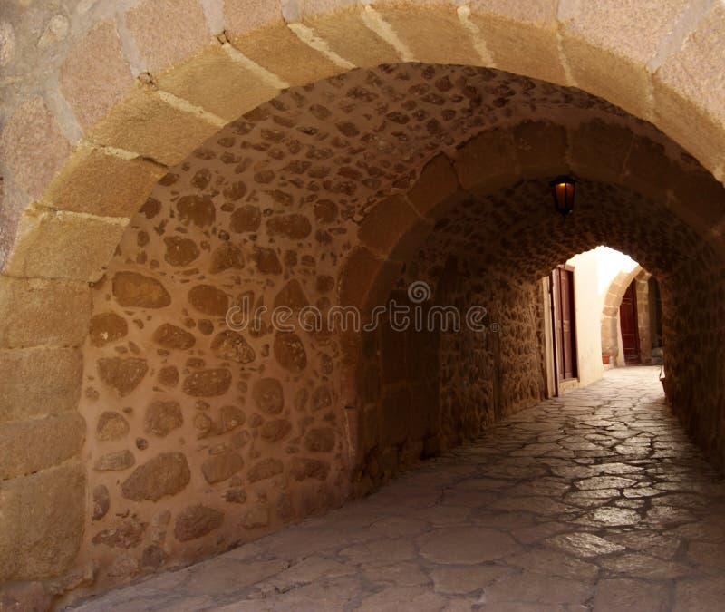 Passez dans le monastère de St Catherine, Sinai photo stock