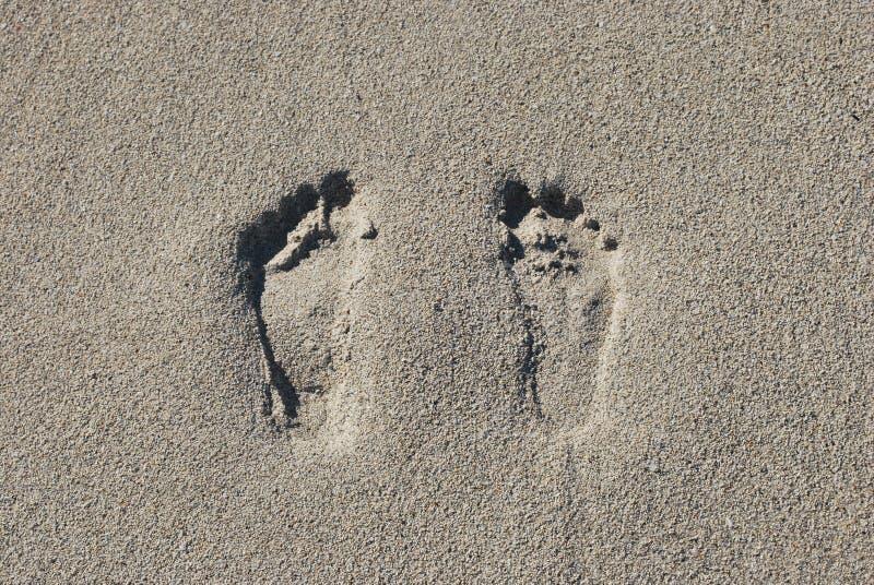 Due orme nella sabbia