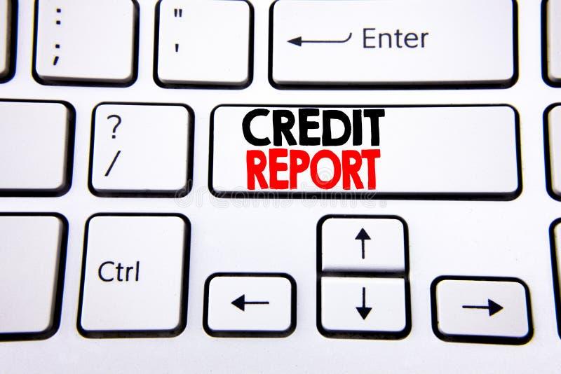 Passi l'ispirazione di titolo del testo di scrittura che mostra il rapporto di credito Concetto di affari per il controllo del pu immagini stock