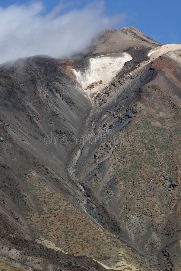 Passieve Vulkaan stock foto