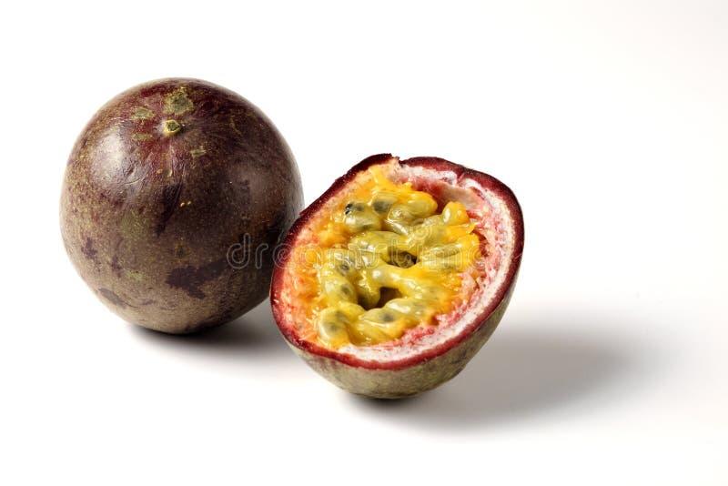 Passiflora commestibile di Maracuja fotografia stock