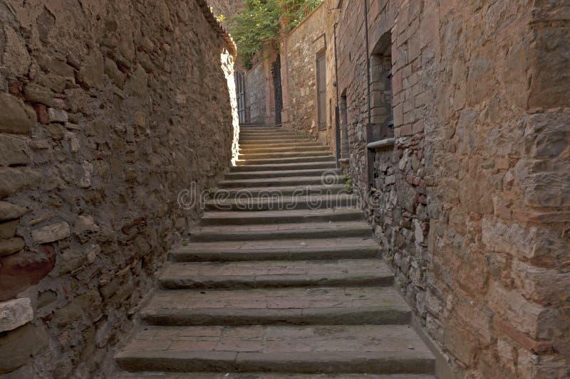 Passignano sul Trasimeno, Umbria, Włochy zdjęcie stock