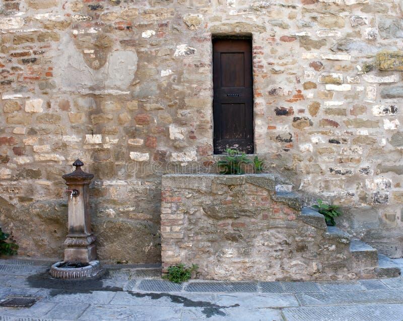 Passignano sul Trasimeno, Umbria, Włochy zdjęcia stock