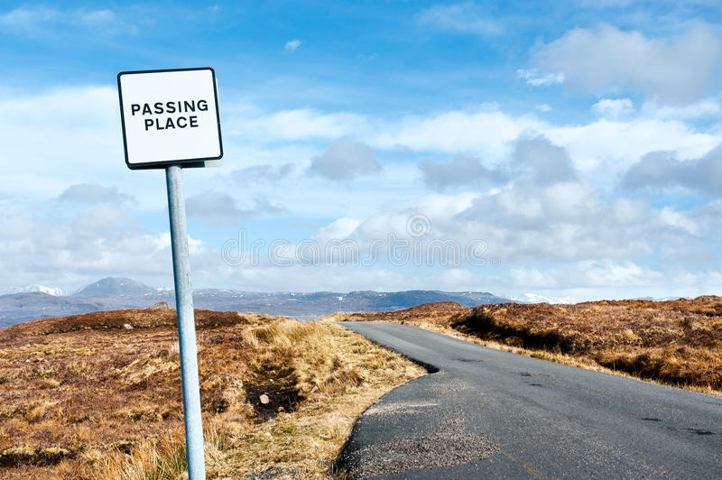 Download Passing place stock photo. Image of passing, cloud, road - 22131668