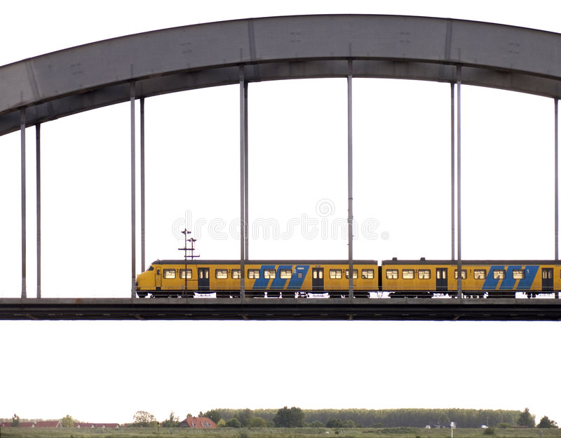 Passing train 4 royalty free stock images