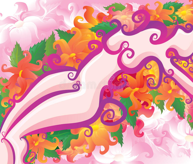 Download Passion stock vector. Illustration of flora, artistic - 16445392