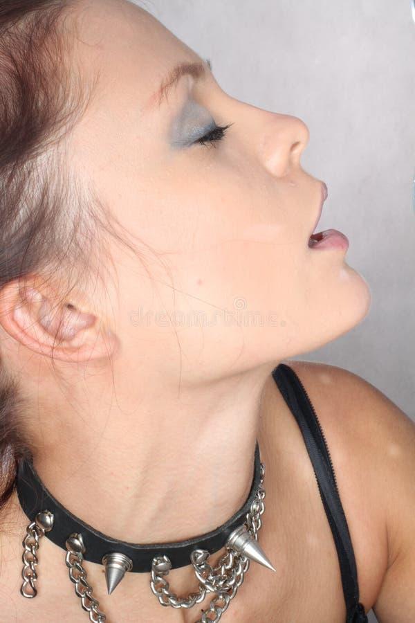 Passion d'orgasme photographie stock
