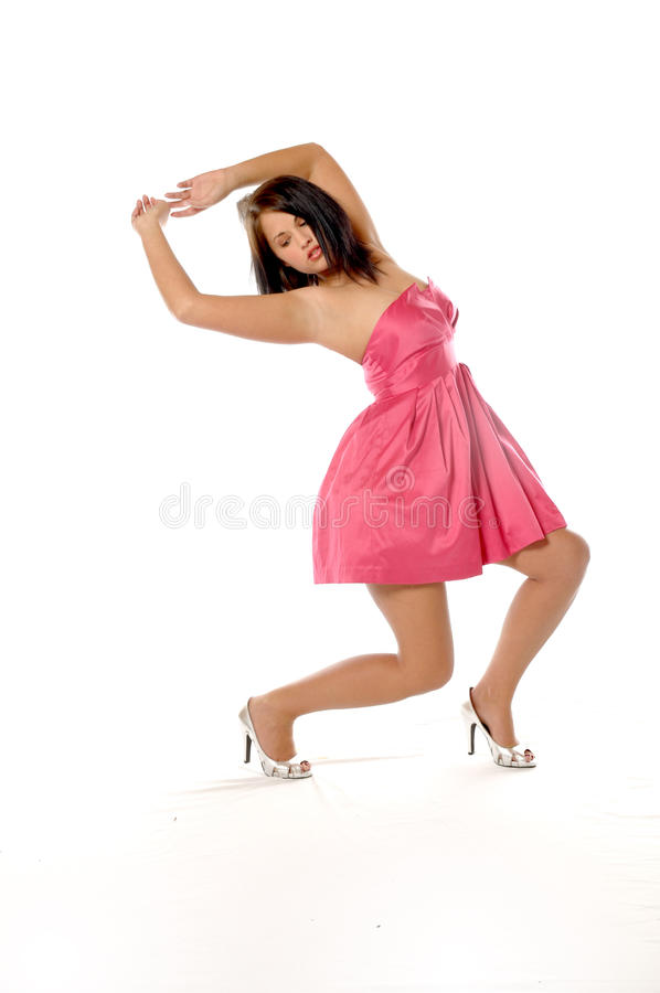 Download Passion Dance stock photo. Image of passion, pink, isolated - 13619430
