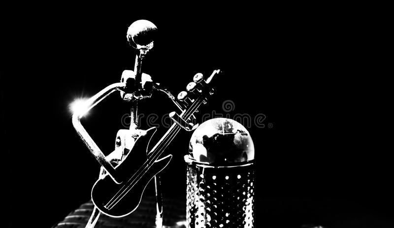Passion de guitare photographie stock libre de droits
