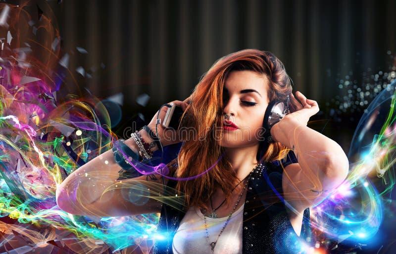 Passion de musique photo libre de droits