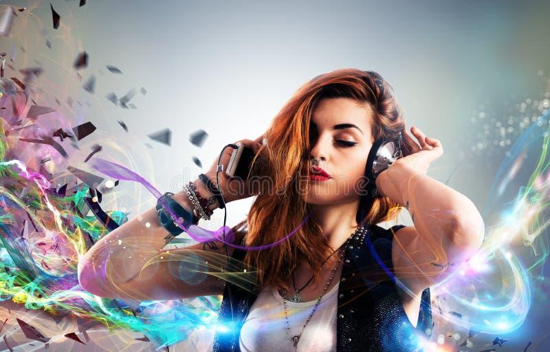 Passion de musique photos libres de droits