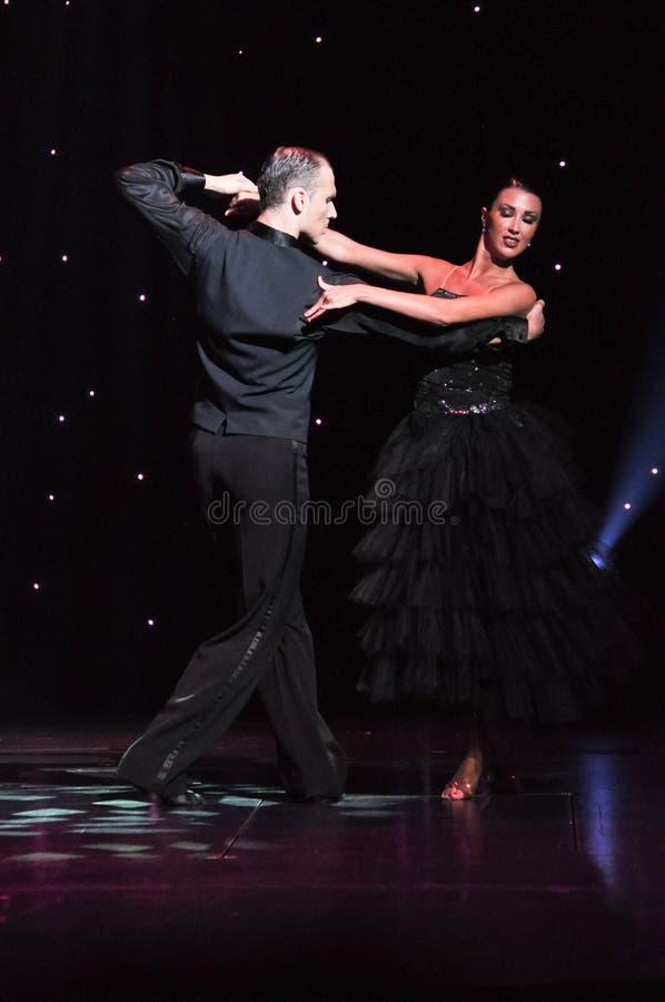 Passion de tango photo libre de droits