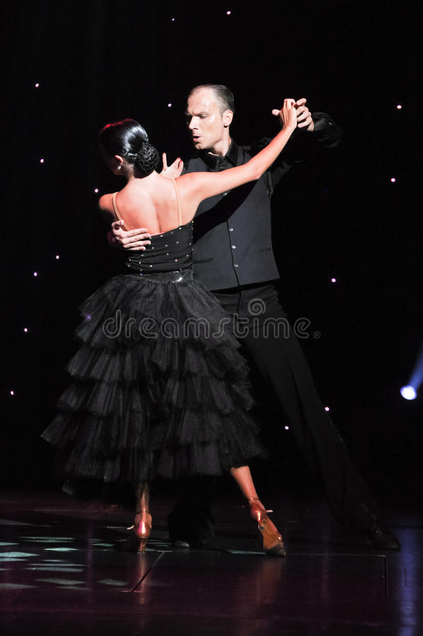 Passion de tango image libre de droits