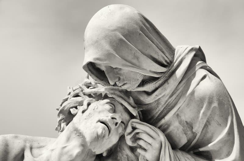 Passion du Christ photo stock