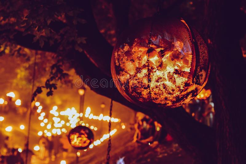 Passion of fire royalty free stock images