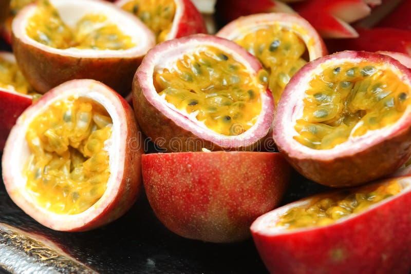 Download Passion fruit stock photo. Image of purple, food, dessert - 26214800