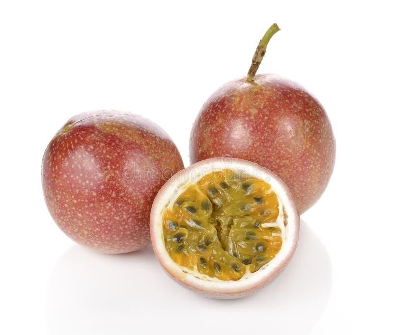 Passion fruit isolated on white background. Passion fruit isolated on white background stock image
