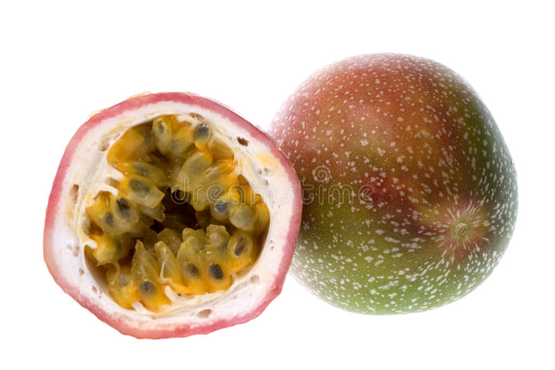 Download Passion Fruits Isolated stock image. Image of fruits, juicy - 6458545