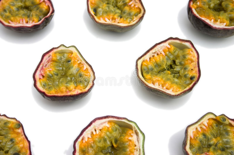Download Passion fruits sliced stock photo. Image of background - 144040