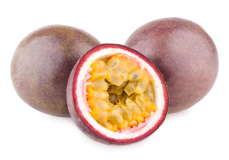 Passion fruits royalty free stock photos