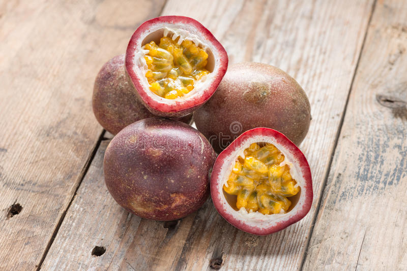 Passion fruits. royalty free stock photo