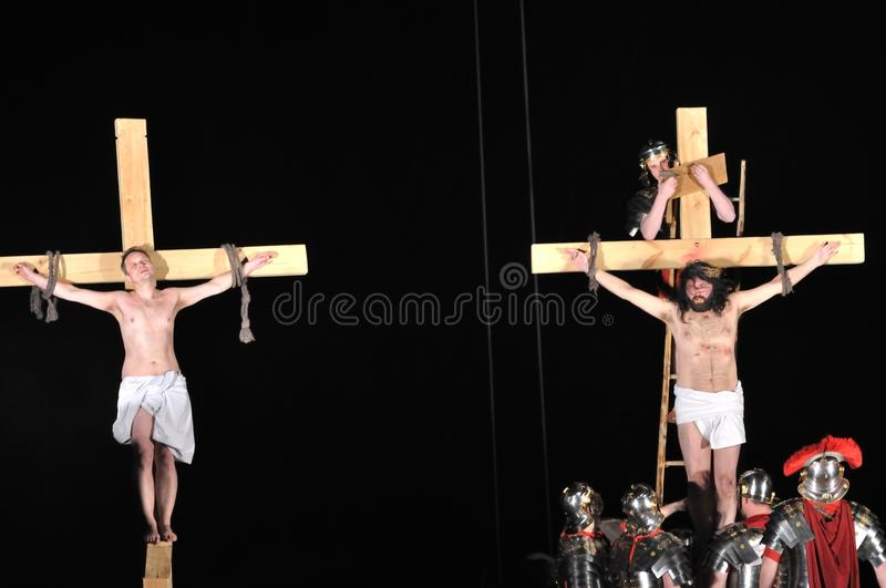 Passion Play Editorial Photo