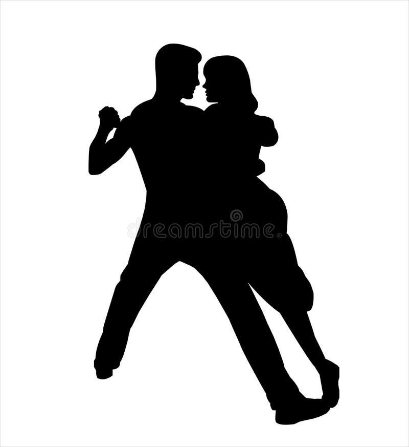 Passion pour la danse illustration stock