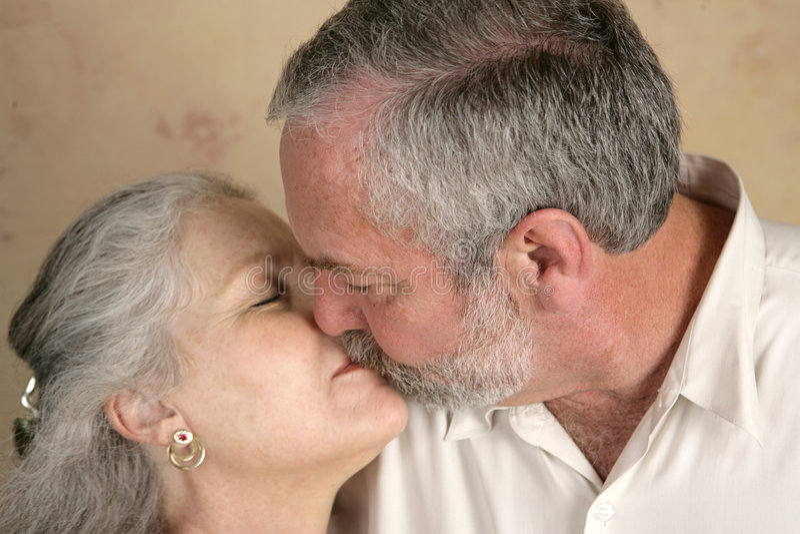 Passionate Kiss stock photos