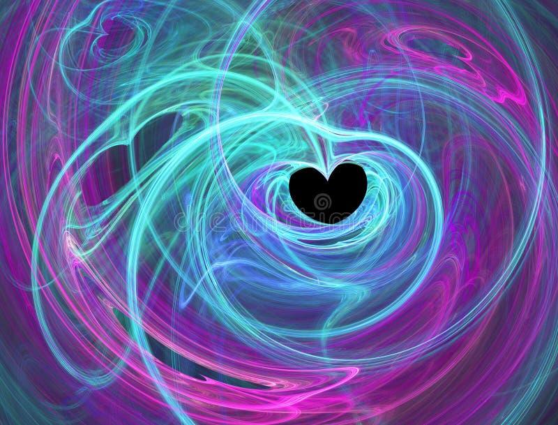 passionerad hjärta vektor illustrationer