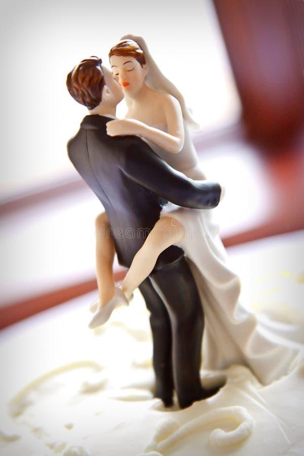 passionerat bröllop för garnering arkivbilder
