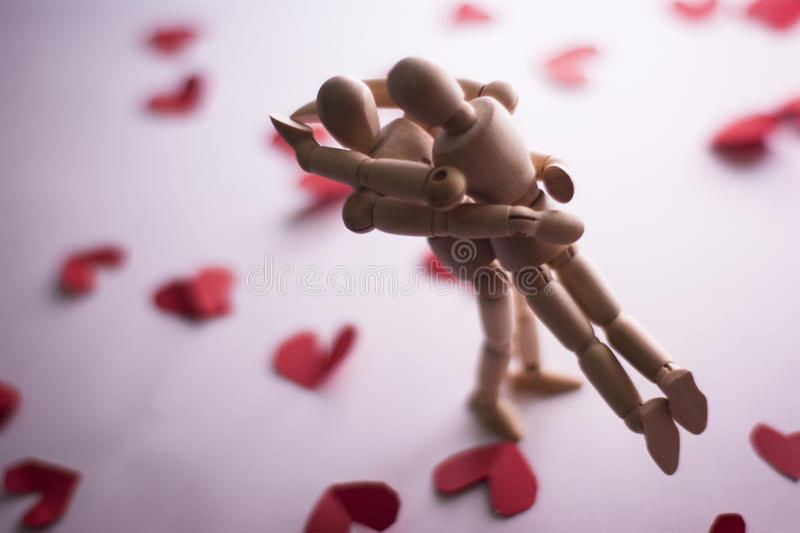 Passionette-Paare stockbild