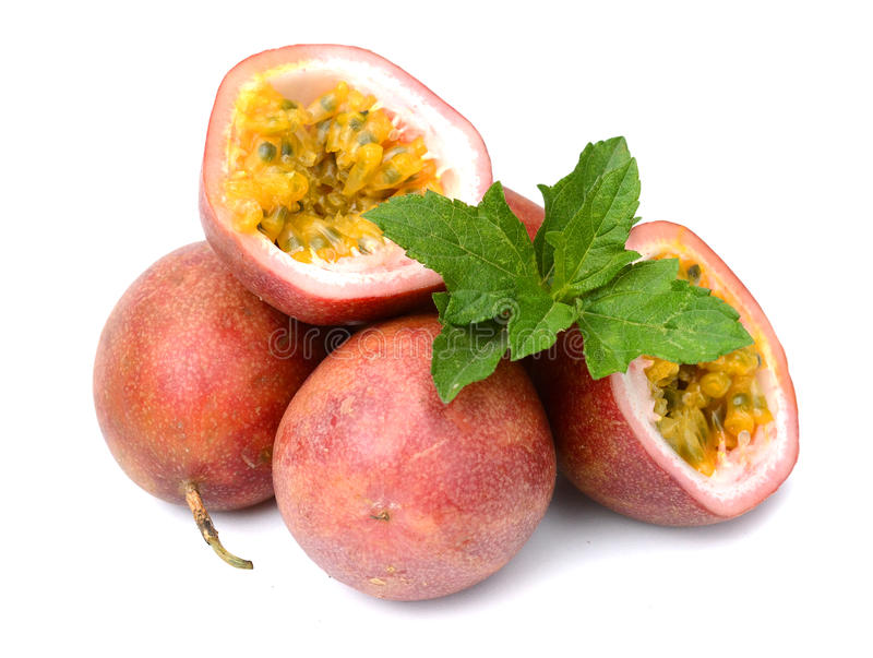 Passionfruit fotos de stock royalty free