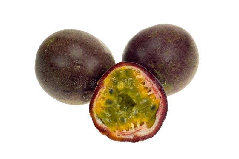 Passionfruit fresco fotografie stock