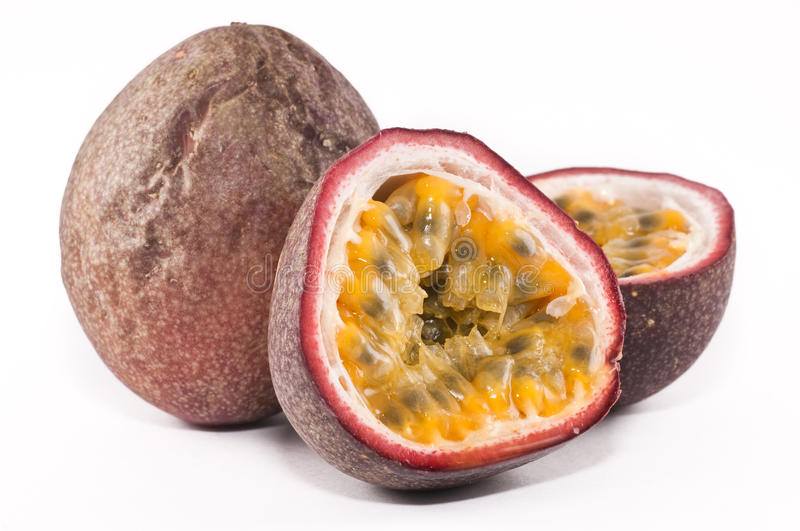 Passionfruits royalty free stock photography